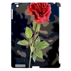 Long Stem Rose Apple iPad 3/4 Hardshell Case (Compatible with Smart Cover)