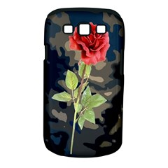 Long Stem Rose Samsung Galaxy S III Classic Hardshell Case (PC+Silicone)
