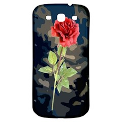Long Stem Rose Samsung Galaxy S3 S III Classic Hardshell Back Case