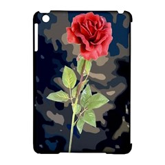 Long Stem Rose Apple Ipad Mini Hardshell Case (compatible With Smart Cover)