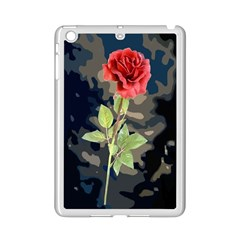 Long Stem Rose Apple iPad Mini 2 Case (White)