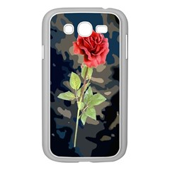 Long Stem Rose Samsung Galaxy Grand DUOS I9082 Case (White)