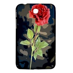 Long Stem Rose Samsung Galaxy Tab 3 (7 ) P3200 Hardshell Case