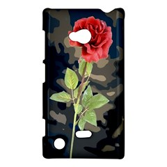 Long Stem Rose Nokia Lumia 720 Hardshell Case