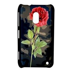 Long Stem Rose Nokia Lumia 620 Hardshell Case