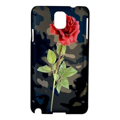 Long Stem Rose Samsung Galaxy Note 3 N9005 Hardshell Case