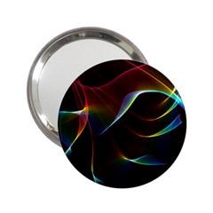 Imagine, Through The Abstract Rainbow Veil Handbag Mirror (2.25 )