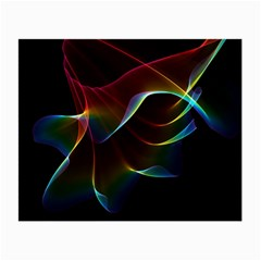 Imagine, Through The Abstract Rainbow Veil Glasses Cloth (Small, Two Sided)