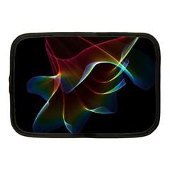 Imagine, Through The Abstract Rainbow Veil Netbook Sleeve (Medium)