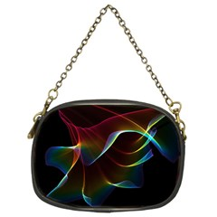 Imagine, Through The Abstract Rainbow Veil Chain Purse (Two Sided)