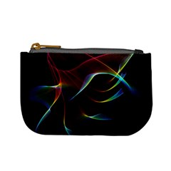 Imagine, Through The Abstract Rainbow Veil Coin Change Purse