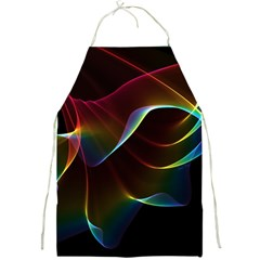 Imagine, Through The Abstract Rainbow Veil Apron