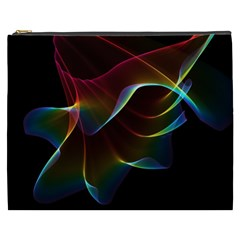 Imagine, Through The Abstract Rainbow Veil Cosmetic Bag (XXXL)