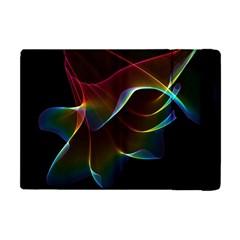 Imagine, Through The Abstract Rainbow Veil Apple Ipad Mini Flip Case
