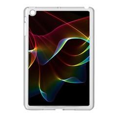 Imagine, Through The Abstract Rainbow Veil Apple iPad Mini Case (White)
