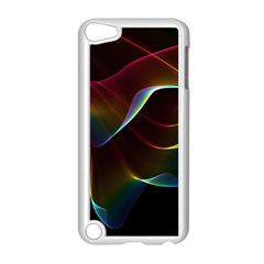 Imagine, Through The Abstract Rainbow Veil Apple iPod Touch 5 Case (White)