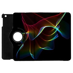 Imagine, Through The Abstract Rainbow Veil Apple iPad Mini Flip 360 Case