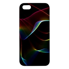 Imagine, Through The Abstract Rainbow Veil Apple Iphone 5 Premium Hardshell Case