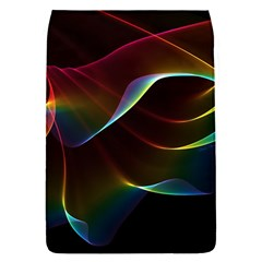 Imagine, Through The Abstract Rainbow Veil Removable Flap Cover (Small)