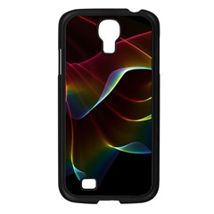 Imagine, Through The Abstract Rainbow Veil Samsung Galaxy S4 I9500/ I9505 Case (Black)