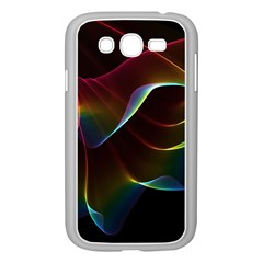 Imagine, Through The Abstract Rainbow Veil Samsung Galaxy Grand Duos I9082 Case (white)