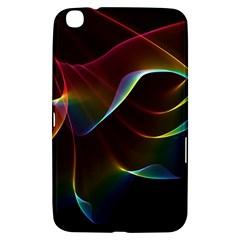 Imagine, Through The Abstract Rainbow Veil Samsung Galaxy Tab 3 (8 ) T3100 Hardshell Case