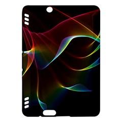 Imagine, Through The Abstract Rainbow Veil Kindle Fire HDX 7  Hardshell Case