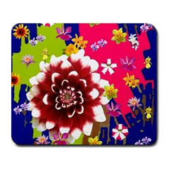 Flower Bunch Large Mouse Pad (Rectangle)