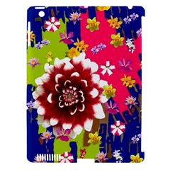 Flower Bunch Apple Ipad 3/4 Hardshell Case (compatible With Smart Cover)