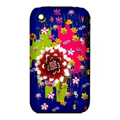 Flower Bunch Apple iPhone 3G/3GS Hardshell Case (PC+Silicone)