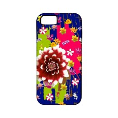 Flower Bunch Apple Iphone 5 Classic Hardshell Case (pc+silicone)