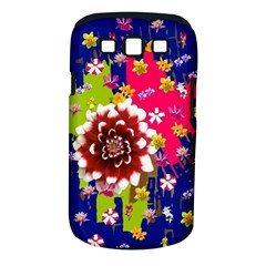 Flower Bunch Samsung Galaxy S Iii Classic Hardshell Case (pc+silicone)