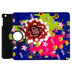 Flower Bunch Apple iPad Mini Flip 360 Case