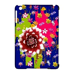 Flower Bunch Apple iPad Mini Hardshell Case (Compatible with Smart Cover)