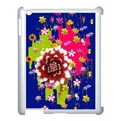 Flower Bunch Apple iPad 3/4 Case (White)
