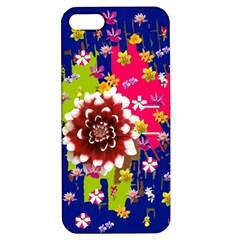 Flower Bunch Apple Iphone 5 Hardshell Case With Stand