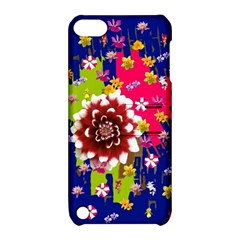Flower Bunch Apple iPod Touch 5 Hardshell Case with Stand