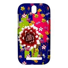 Flower Bunch HTC One SV Hardshell Case