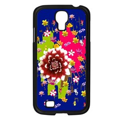 Flower Bunch Samsung Galaxy S4 I9500/ I9505 Case (Black)