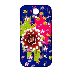 Flower Bunch Samsung Galaxy S4 I9500/i9505  Hardshell Back Case