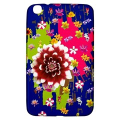 Flower Bunch Samsung Galaxy Tab 3 (8 ) T3100 Hardshell Case