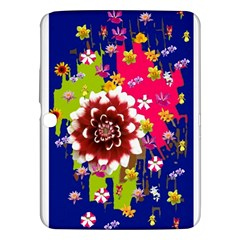 Flower Bunch Samsung Galaxy Tab 3 (10.1 ) P5200 Hardshell Case