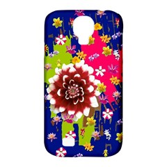 Flower Bunch Samsung Galaxy S4 Classic Hardshell Case (pc+silicone)