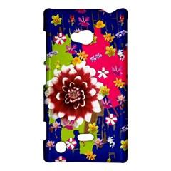 Flower Bunch Nokia Lumia 720 Hardshell Case