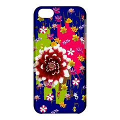 Flower Bunch Apple Iphone 5c Hardshell Case