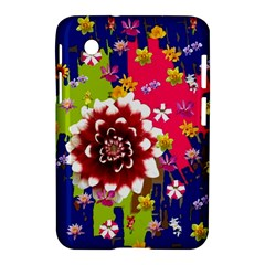 Flower Bunch Samsung Galaxy Tab 2 (7 ) P3100 Hardshell Case