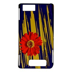 Red Flower Motorola Droid X / X2 Hardshell Case