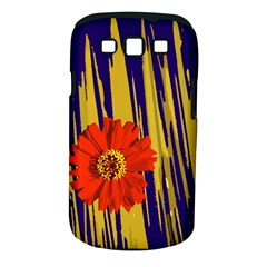 Red Flower Samsung Galaxy S III Classic Hardshell Case (PC+Silicone)