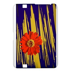Red Flower Kindle Fire Hd 8 9  Hardshell Case