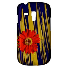 Red Flower Samsung Galaxy S3 MINI I8190 Hardshell Case